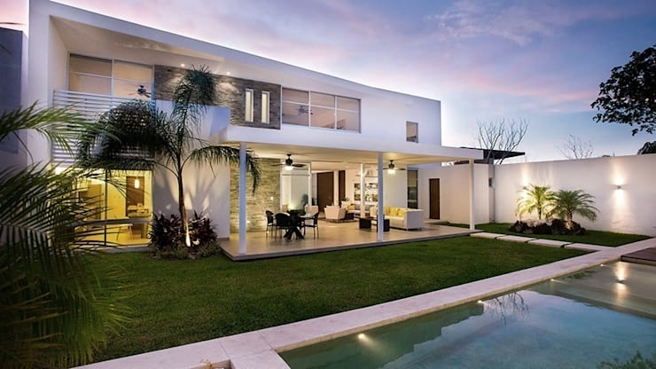 Casas de estilo moderno por Ancona + Ancona Arquitectos