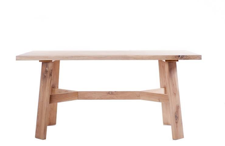 Stół Anne: styl , w kategorii Jadalnia zaprojektowany przez hoom