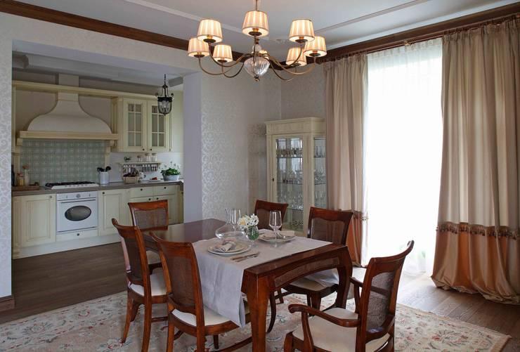 Загородный дом 360м2: Столовые комнаты в . Автор – Tatiana Ivanova Design