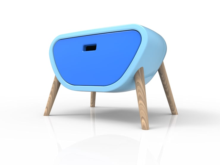 Little Gauche: Camera da letto in stile  di Roberto Corazza