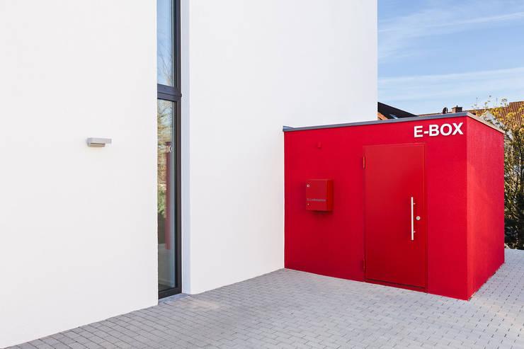 Projekty,  Domy zaprojektowane przez Dynahaus GmbH & Co. KG