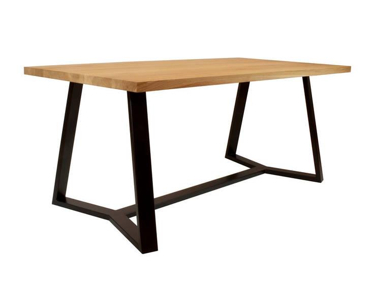 minimalistyczny stół VERTICO: styl , w kategorii Jadalnia zaprojektowany przez take me HOME