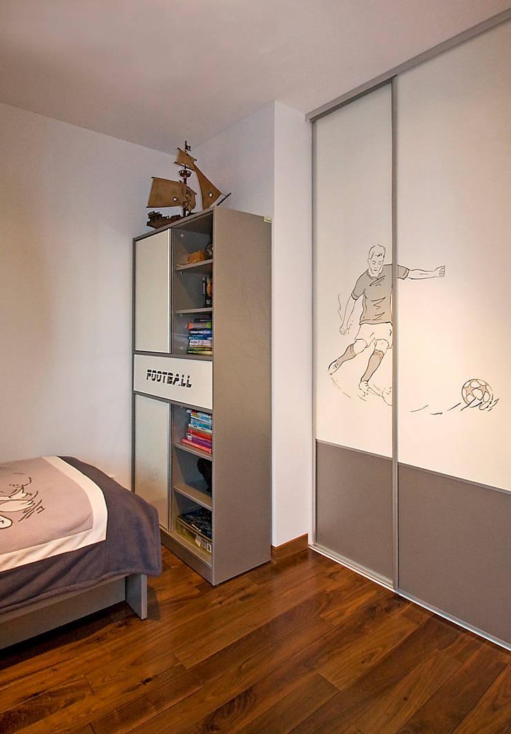 Mieszkanie na Tarchominie: styl , w kategorii Pokój dziecięcy zaprojektowany przez Ładne Wnętrze,Nowoczesny