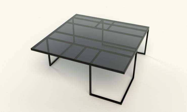MANHATTAN minimalistyczna ława: styl , w kategorii Salon zaprojektowany przez take me HOME