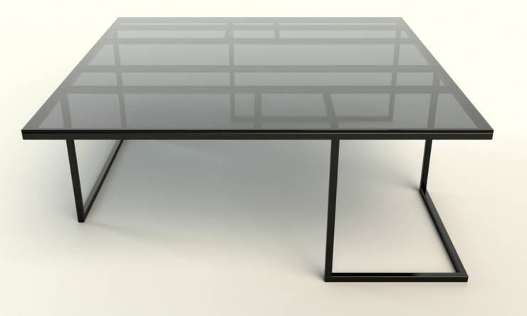 MANHATTAN minimalistyczna ława: styl , w kategorii Salon zaprojektowany przez take me HOME,