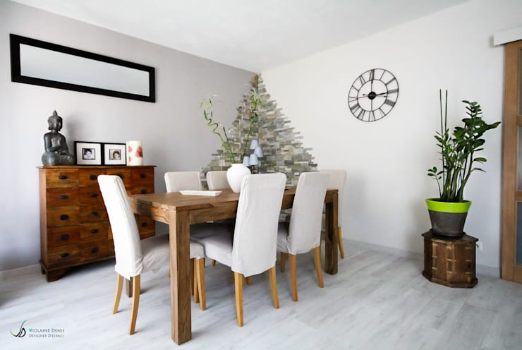 Dining room by Violaine Denis
