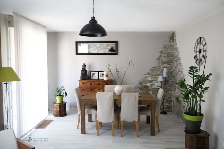 modern Dining room by Violaine Denis