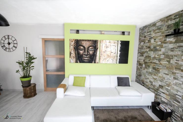 Décoration d\'une pièce à vivre von Violaine Denis | homify