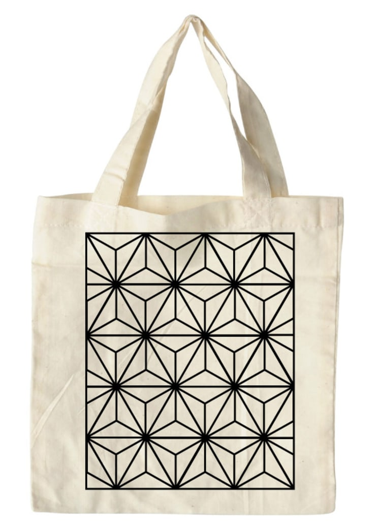 bag pattern white. :  Kunst  door Sophie Wolterink