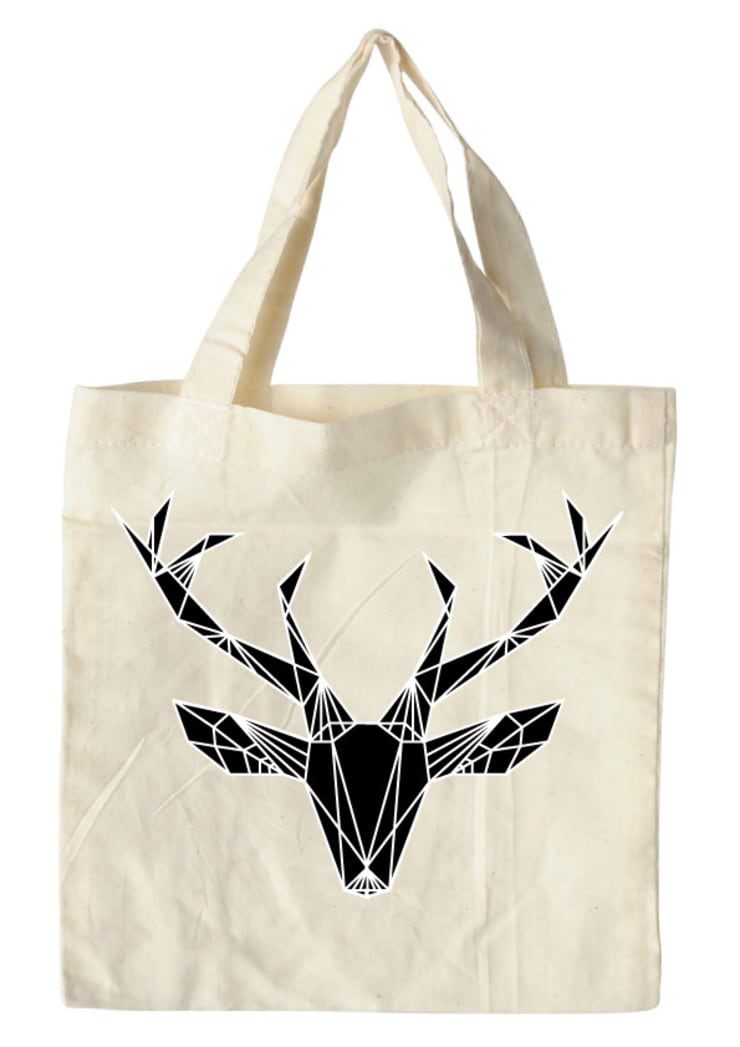 bag deer black:  Kunst  door Sophie Wolterink