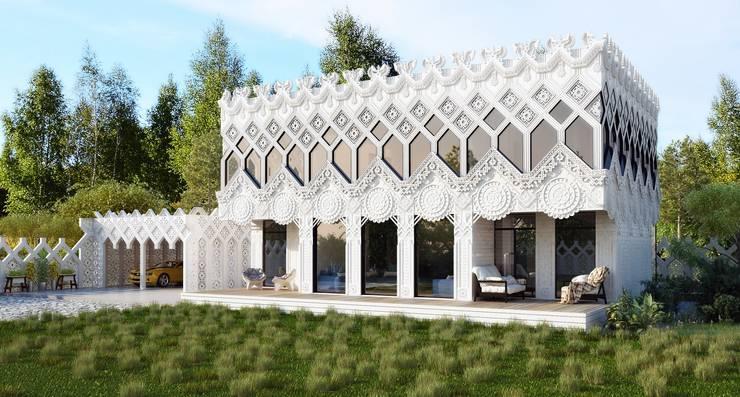 Дом <q>А-ля Рус</q>: Дома в . Автор – ALEXANDER ZHIDKOV ARCHITECT