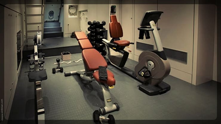 Superyacht Gym - New Zealand:  Yachts & jets by Mark Healy Fitness Management, Modern