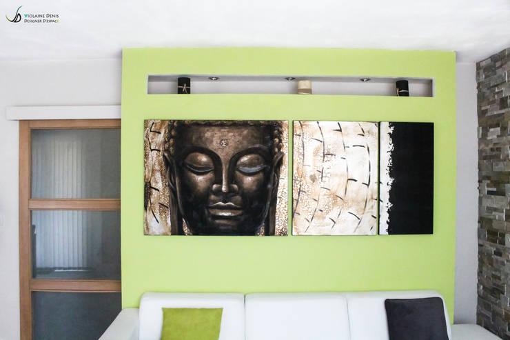 Living room by Violaine Denis