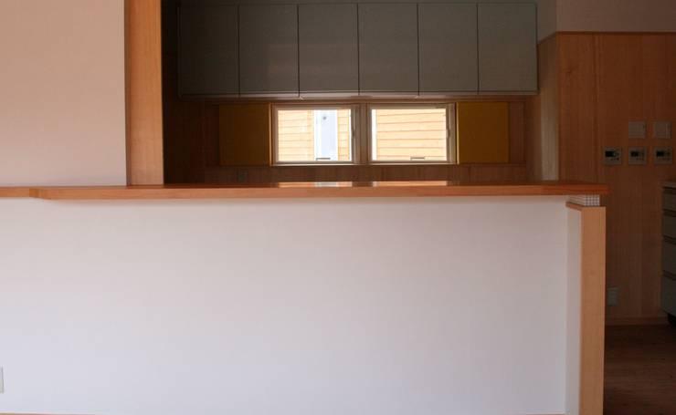 キッチンカウンター: 川田稔設計室一級建築士事務所が手掛けたキッチンです。
