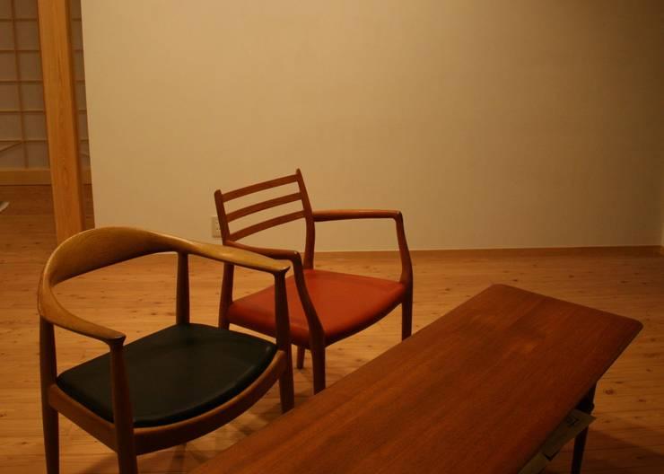 リビング: 川田稔設計室一級建築士事務所が手掛けたリビングです。