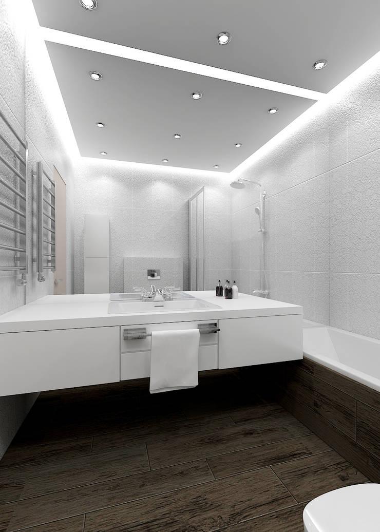 Альбом «Авеню 77-9»: Ванные комнаты в . Автор – ООО 'Студио-ТА'