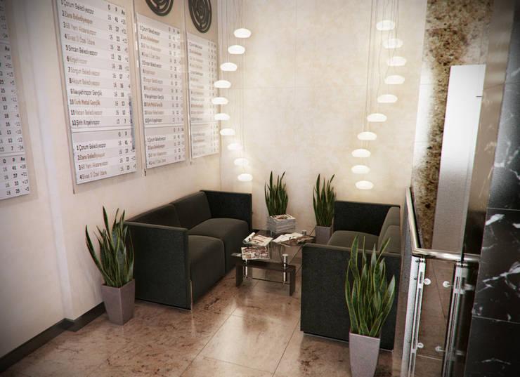 อาคารสำนักงาน โดย Дизайн-студия 'Эскиз', มินิมัล