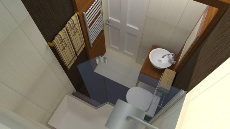 DETAY MİMARLIK MÜHENDİSLİK İÇ MİMARLIK İNŞAAT TAAH. SAN. ve TİC. LTD. ŞTİ. – Bathroom Project:  tarz Banyo