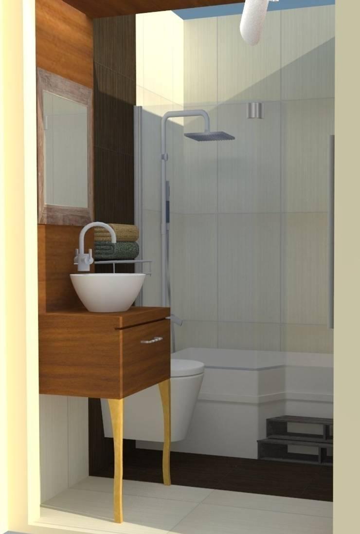 DETAY MİMARLIK MÜHENDİSLİK İÇ MİMARLIK İNŞAAT TAAH. SAN. ve TİC. LTD. ŞTİ. – Bathroom Project:  tarz Banyo, Akdeniz