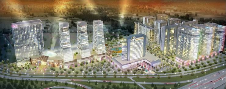 Ulus Architects – Masterplan Sheraton Hotel Complex:  tarz