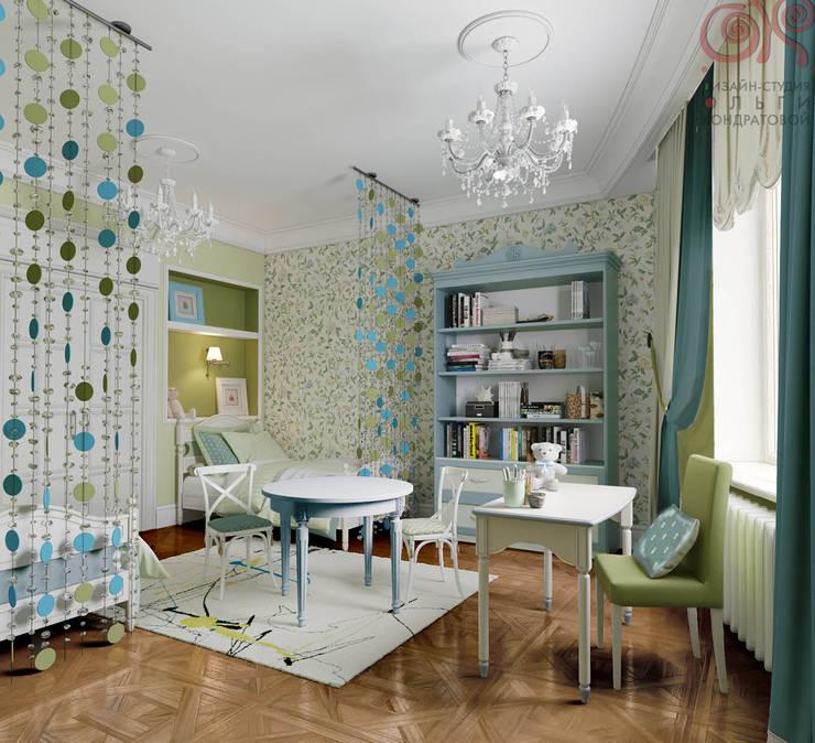 Дизайн 4-комнатной квартиры в ЖК «Дом на Давыдковской»: Детские комнаты в . Автор – Дизайн студия Ольги Кондратовой