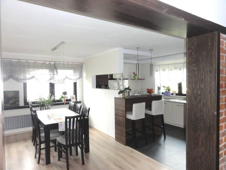 Kuchnia : styl , w kategorii Jadalnia zaprojektowany przez studio bonito,Nowoczesny