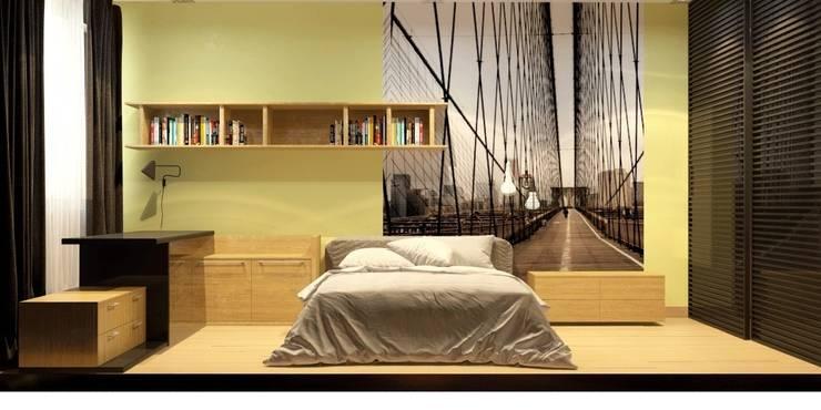 Квартира для мамы с ребенком: Детские комнаты в . Автор – Smirnova Luba
