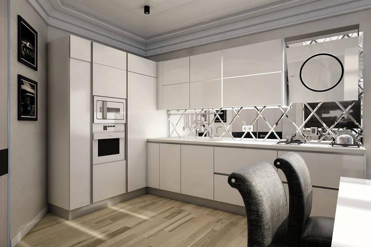 Кухня гостиная: Кухни в . Автор – Smirnova Luba,