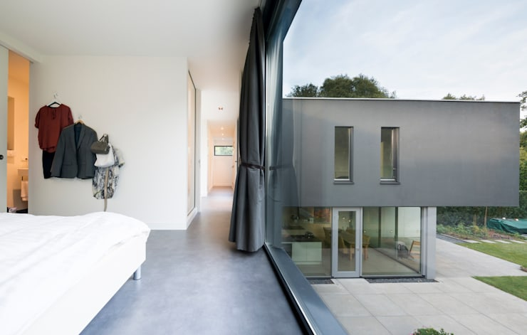 Licht en Zicht:  Slaapkamer door Architect2GO