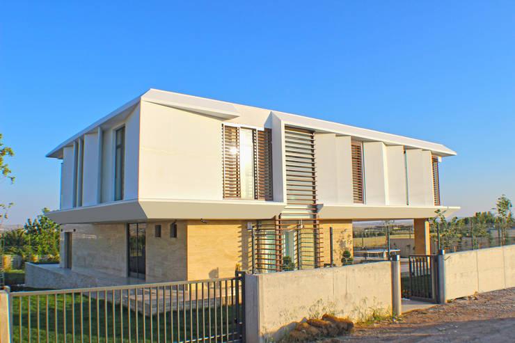 Ayzen Dizayn Mimarlık – Yapı Fotoğrafları-Dış:  tarz Evler