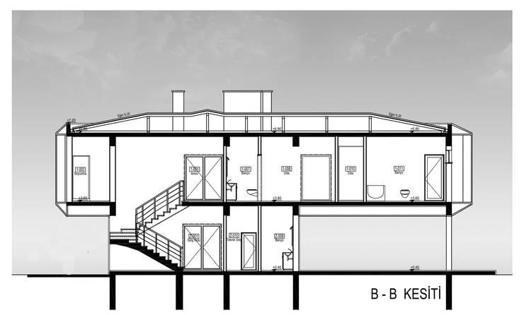 Ayzen Dizayn Mimarlık – Planlar Kesitler:  tarz