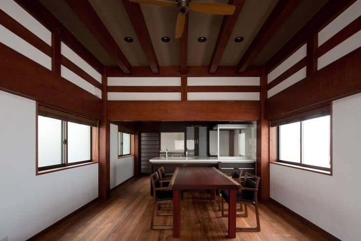 食堂 台所: 杉江直樹設計室が手掛けたです。