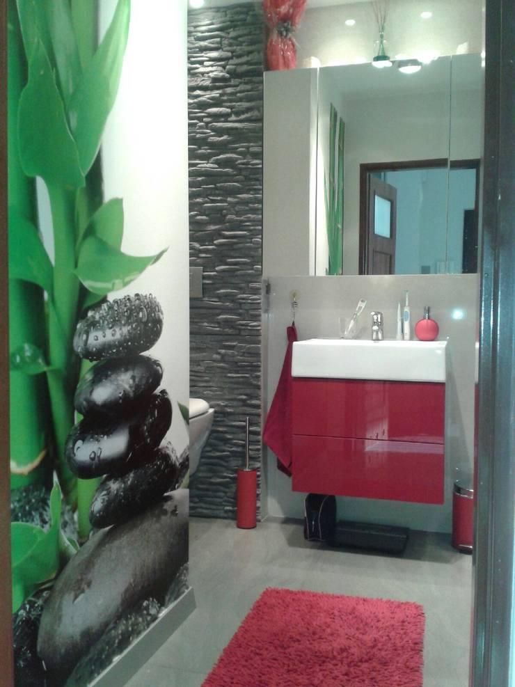 Mieszkanie na wynajem: styl , w kategorii Łazienka zaprojektowany przez studio bonito