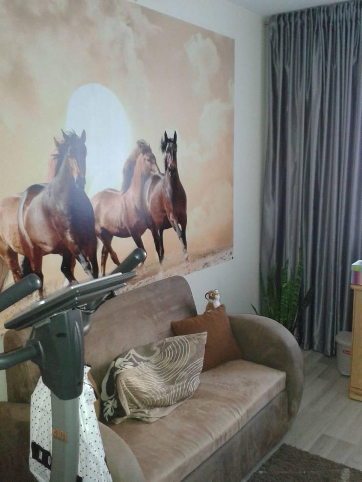 Mieszkanie na wynajem: styl , w kategorii Pokój dziecięcy zaprojektowany przez studio bonito,