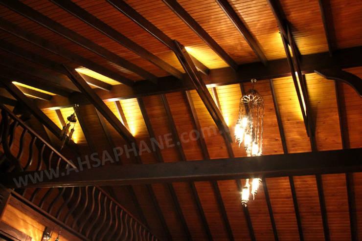 Baneva Ahşap Yapılar TİC.LTD.ŞTİ – çatı detay :  tarz