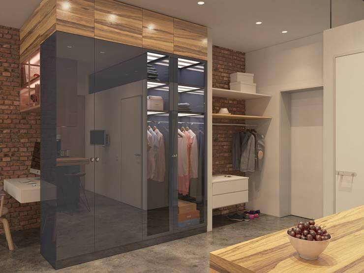 Pasillos y vestíbulos de estilo  de Kristina Petraitis Design House