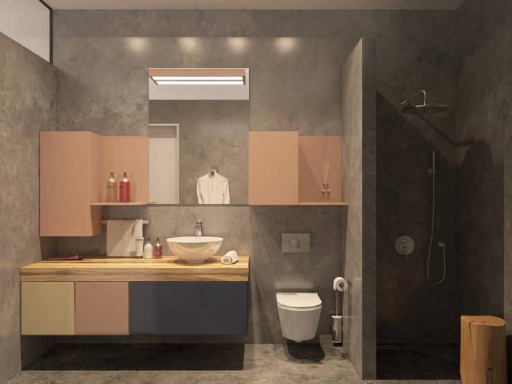 Ванные комнаты в . Автор – Kristina Petraitis Design House