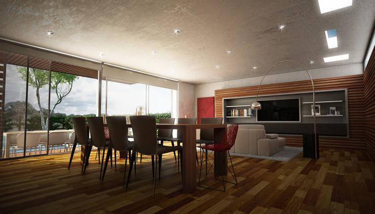 Living room by METODO33, Modern