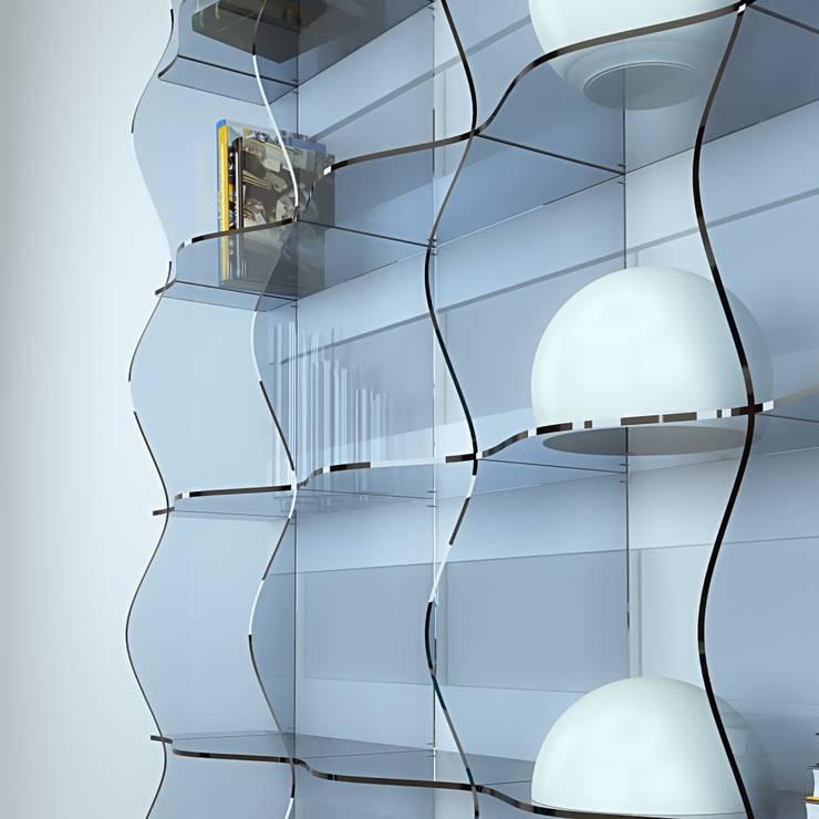 3dita - Digital Visual Motion: modern tarz Çalışma Odası
