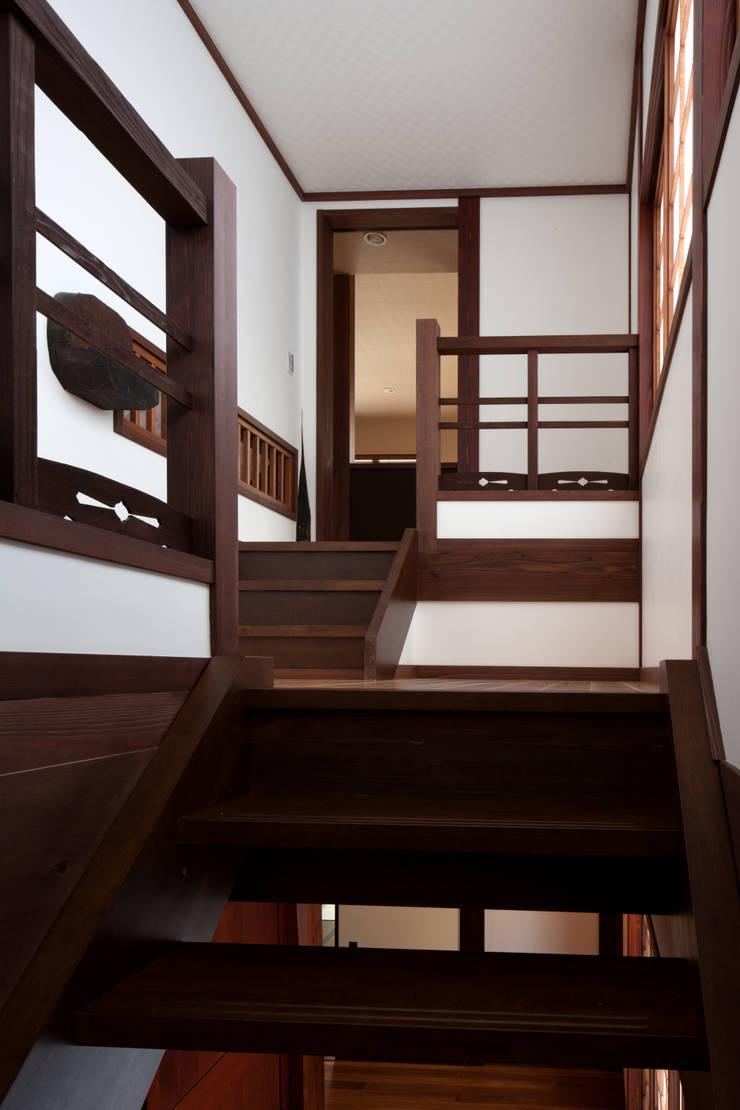 階段室2: 杉江直樹設計室が手掛けたです。