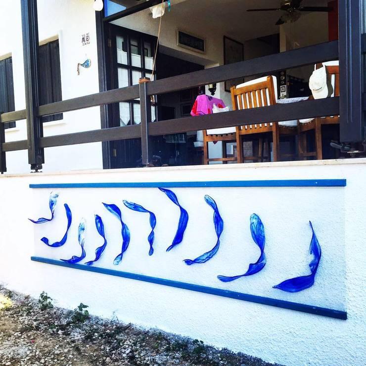 Birtakım Fikirler Mimarlık İnşaat Turizm Ticaret ve Sanayi Ltd. Şti. – BFT Interıors:  tarz Balkon, Veranda & Teras