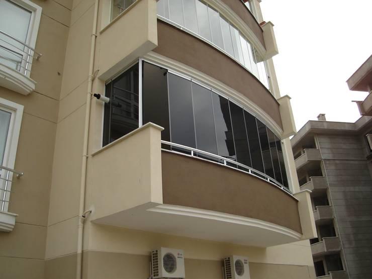 Albert Genau – Yaz – Kış Balkon Keyfi… :  tarz Teras, Modern