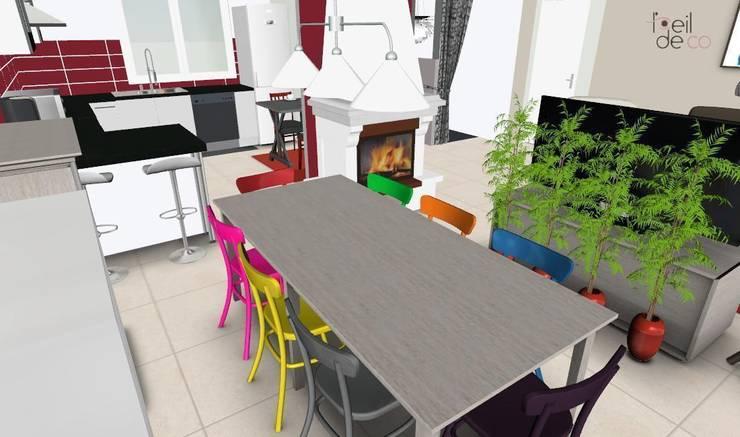 SAlle à manger: Salle à manger de style  par L'Oeil DeCo