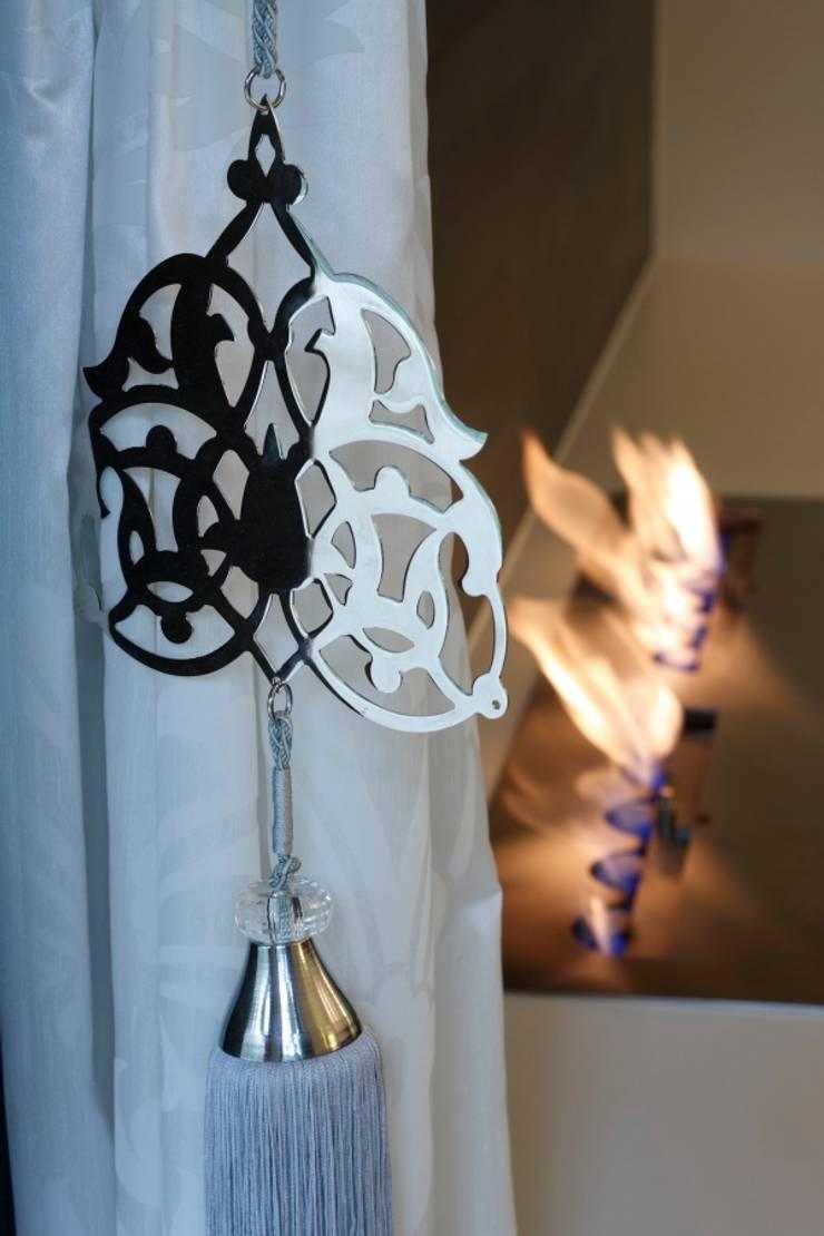 Dom w Magdalence: styl , w kategorii Salon zaprojektowany przez 3deko,