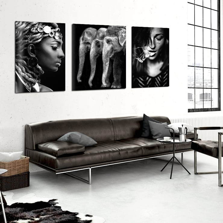 industrial Living room by Posterlounge