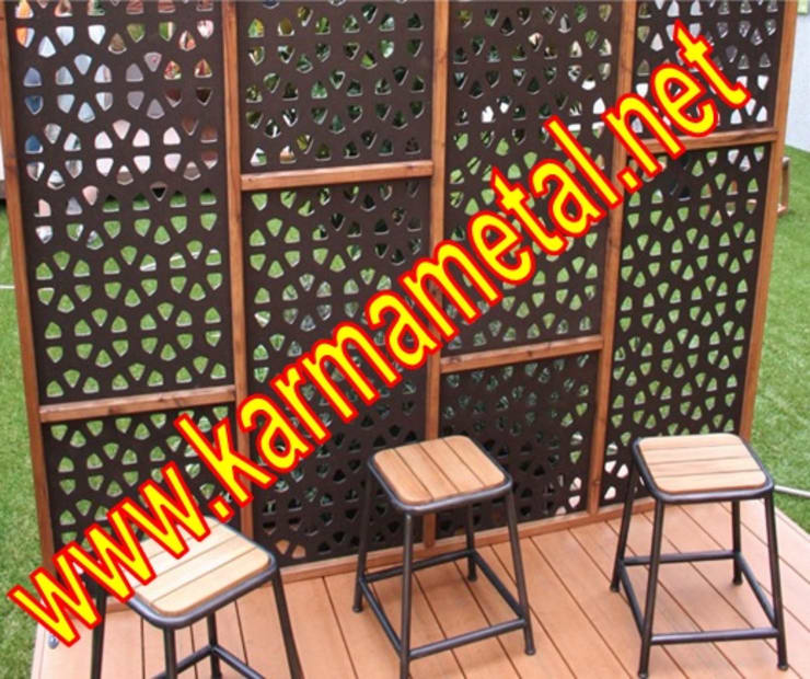KARMA METAL – KARMA METAL-Cnc Lazer Kesim Ferforje Modelleri  Ve  Kapı,Korkuluk,Panel,Cephe Tavan Desenleri:  tarz İç Dekorasyon