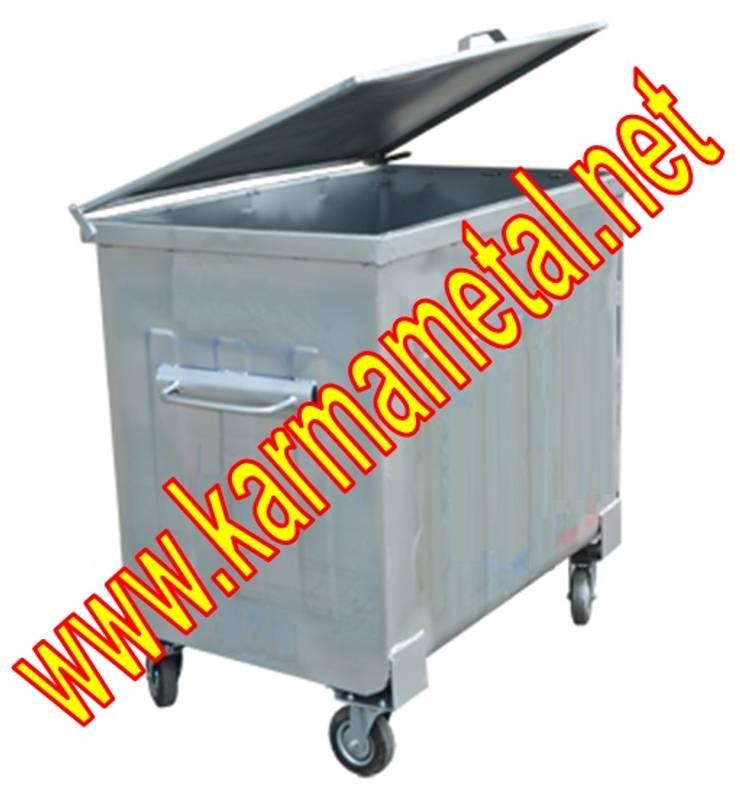 KARMA METAL – Karma Metal - Galvaniz Çöp Konteyneri Sıcak Daldırma Galvanizli Fiyatı Fiyatları: kırsal tarz tarz Fitness Odası
