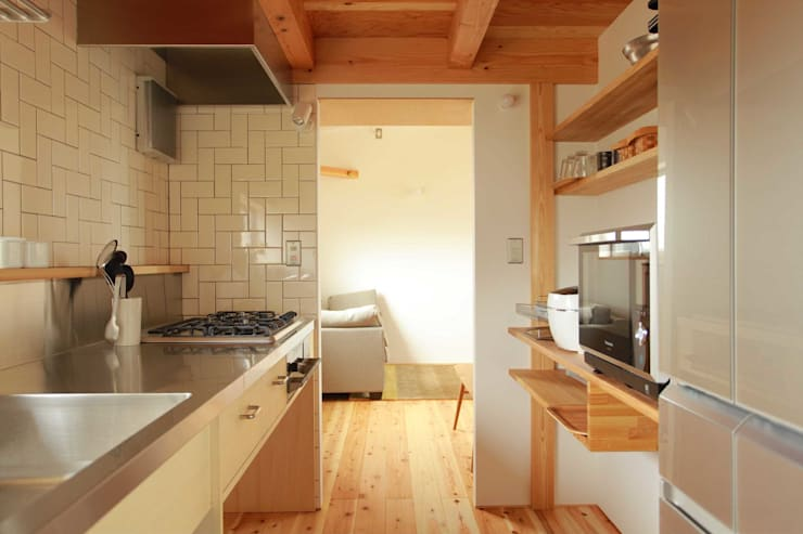 キッチン: 松デザインオフィスが手掛けたキッチンです。