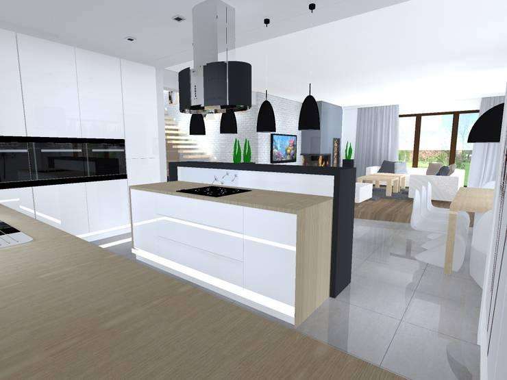 Kuchnia: styl , w kategorii  zaprojektowany przez studio bonito