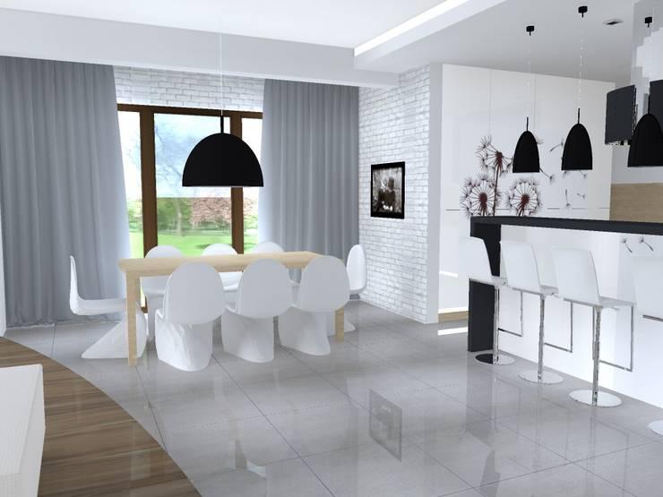 Jadalnia: styl , w kategorii  zaprojektowany przez studio bonito